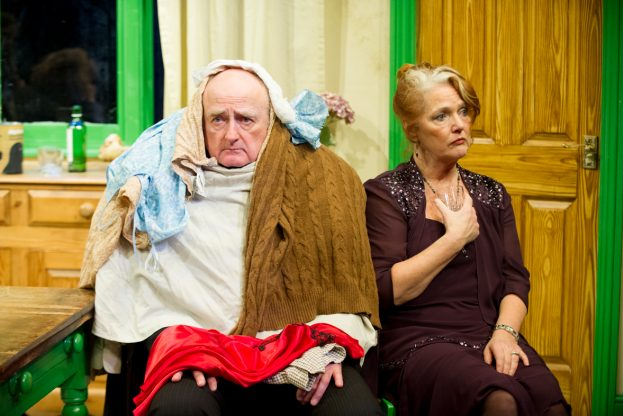 APS John Arthur and Louise Jameson in Absurd Person Singular (Mill at Sonning)
