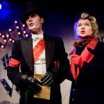 Alistair Robins and Issy van Randwyck in Anyone Can Whistle (Jermyn Street Theatre) - Bob Workman