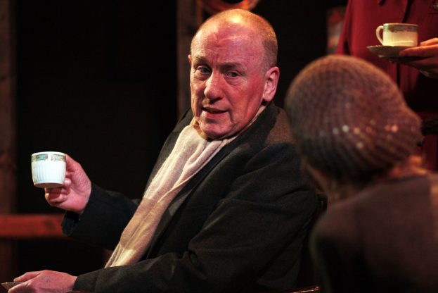 Christopher Timothy and Caroline Blakiston in The Living Room (Jermyn Street Theatre) - Bob Workman (2)