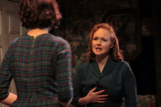 Tuppence Middleton and Emma Davies in The Living Room (Jermyn Street Theatre) - Bob Workman