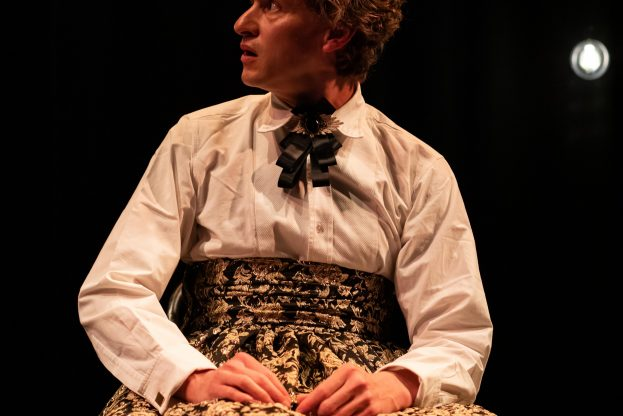 Pictures of Dorian Gray - Jermyn Street Theatre - Richard Keightley (Mr Vane_Duchess)1. Credit - S R Taylor Photography