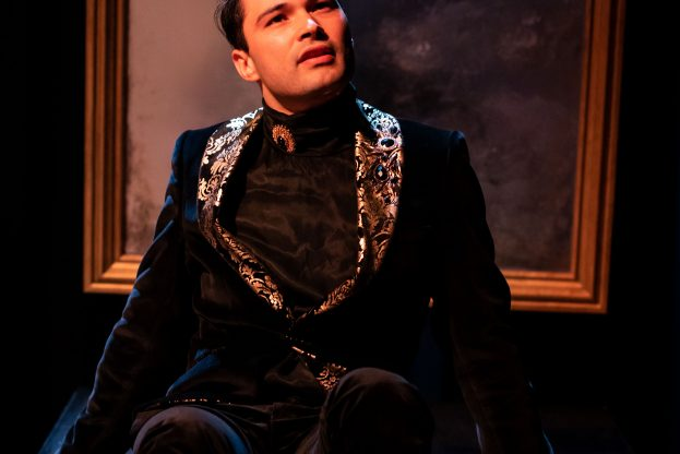 Pictures of Dorian Gray - Jermyn Street Theatre - Stanton Wright (Dorian Gray)1. Credit - S R Taylor Photography